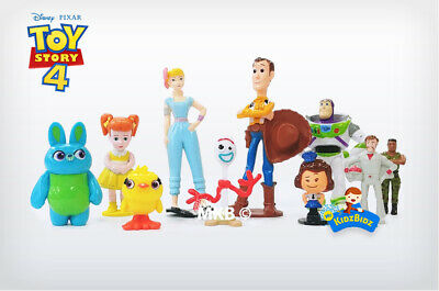 £11.99 • Buy Brand New Disney TOY STORY 4 Cake Toppers / 10 Figures