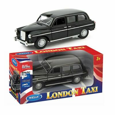 £7.69 • Buy London Black Taxi Car Pull Back Diecast Front Open Door Child Play Fun Kids Toy
