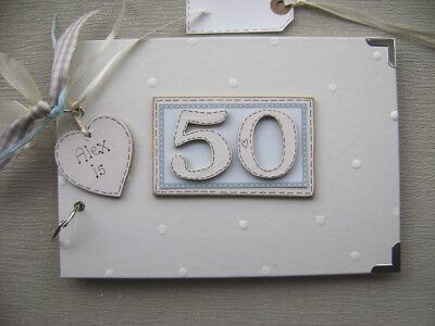 £13.10 • Buy PERSONALISED 50th  Birthday .A5  SIZE... PHOTO ALBUM/SCRAPBOOK/MEMORY BOOK.