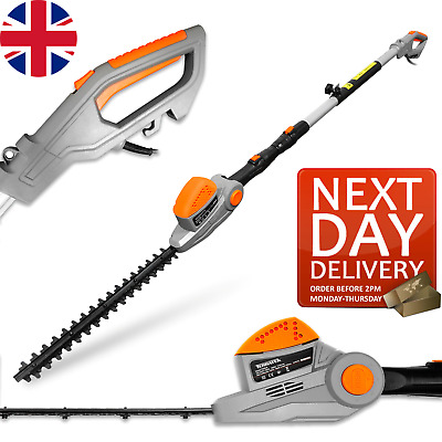 £79.95 • Buy Telescopic Long Reach Extendable 550w Electric Hedge Trimmer Pole Saw