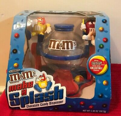 £10.65 • Buy M&Ms Candy Make A Splash Fun Collectible Chocolate Candy Dispenser NEW