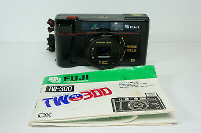 $ CDN50 • Buy Vintage Fuji TW-300 Film DX Compact Camera Point And Shoot Japan Tested