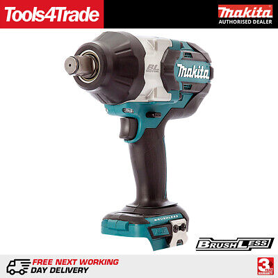 Makita DTW1001Z 18V LXT Li-Ion Cordless Brushless 3/4  Impact Wrench Body Only • 229£