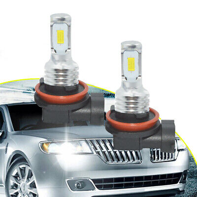 AU16.54 • Buy H11 H8 H9 LED Headlights Bulbs Kit High/Low Beam Bright 35W 4000LM 6000K White*2