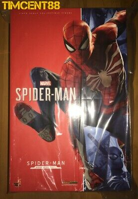 $ CDN501.11 • Buy Ready! Hot Toys VGM31 Marvel's Spider-Man (Advanced Suit) 1/6 Figure New