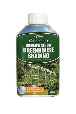 VITAX Summer Cloud Greenhouse Shading 500ml - Protects Plants From Summer Sun • 9.10£