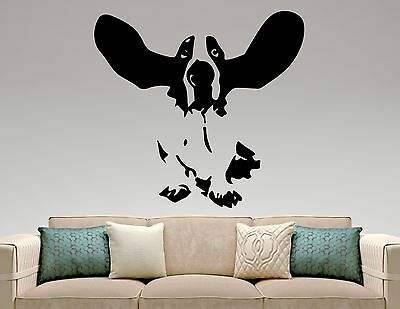 Basset Hound Wall Decal Dog Vinyl Sticker Pet Art Room Bedroom Animal Decor 7epq • 21.26£