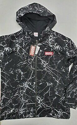 $34.99 • Buy Marvel Box Logo Zip Hoodie Mens  Size M