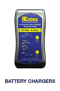 AU149 • Buy Century Cc1206 12volt 6 Ah  9 Stage Battery Charger And Maintainer 5 Year Warran