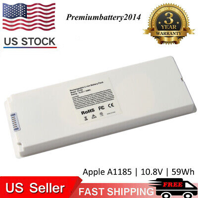 $20.95 • Buy Battery For Apple 13  MacBook A1185 Li-ion 10.8V - 55 Wh Rechargeable Battery PM