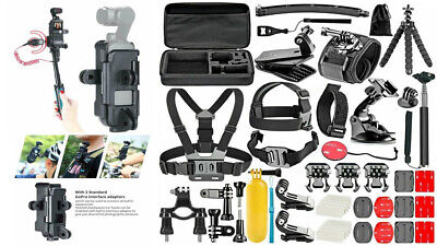 $79 • Buy DJI Osmo Pocket Action Camera Expansion Accessories And Mounts *50 IN 1 Bundle*