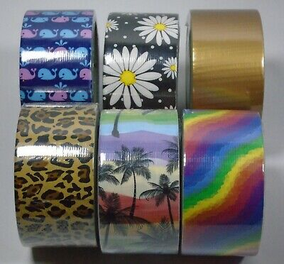 $4.25 • Buy Duck Tape Choose Design Pattern Crafting 1.88 In X 10 Yd New