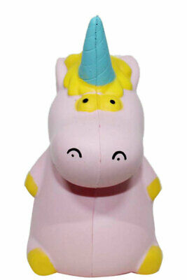 AU17.09 • Buy Pink Unicorn Hippo Squishy Cream Scented Stress Relief Squeeze Toy Collectible