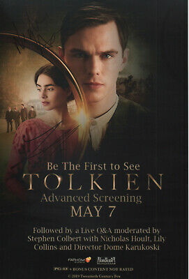 £59.99 • Buy LILY COLLINS & NICHOLAS HOULT Signed 12x8 Photo TOLKIEN COA