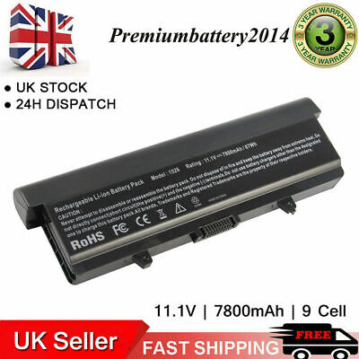 9Cell Battery For Dell Inspiron 1525 1526 1545 1546 GP952 Vostro 500 M911G GW240 • 15.99£