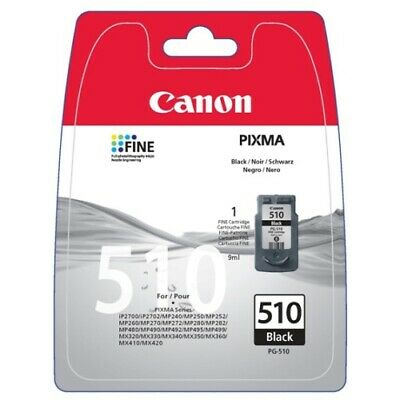 Canon PG-510 (Yield: 220 Pages) Black Ink Cartridge • 16.72£