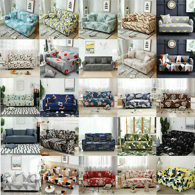 AU31.99 • Buy 1 2 3 4 Seater Elastic Stretch Sofa Cover Slipcover Couch Lounge Protector Decor
