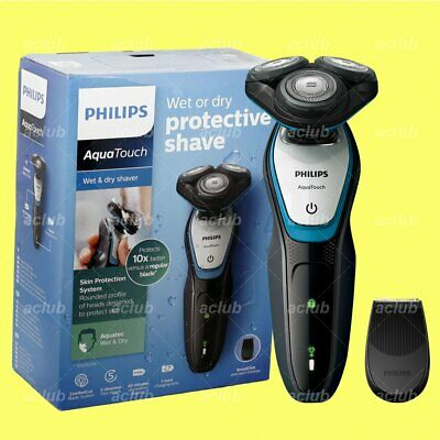 View Details Philips S5070 AquaTouch Wet And Dry Rechargeable Electric Men Rotary Shaver • 63.00£
