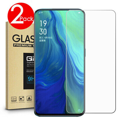AU4.49 • Buy 2 PACK Premium 9H Tempered Glass Screen Protector For OPPO Reno2 Z / Reno4 Z 5G
