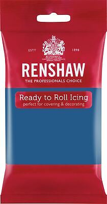 Atlantic Blue Renshaw Ready To Roll Icing 250g Packets • 2.70£