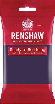 Deep Purple Renshaw Ready To Roll Icing 250g Packets • 2.44£