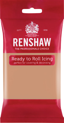 Skin Tone Renshaw Ready To Roll Icing 250g Packets • 2.44£