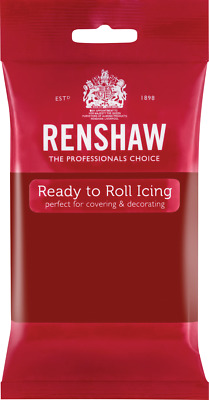 Ruby Red Renshaw Ready To Roll Icing 250g Packets • 2.70£