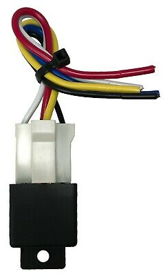 $ CDN17.39 • Buy Beuler 40/60 Amp Waterproof 5-Pin Relay Panel With 6  Socket Wire Harness