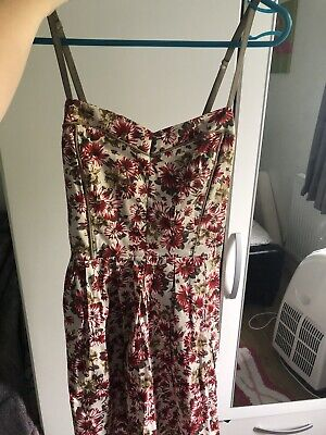 Wal G Red Floral Summer Dress (Brand New With Tags) Size M/L (12/14 Uk) • 10£