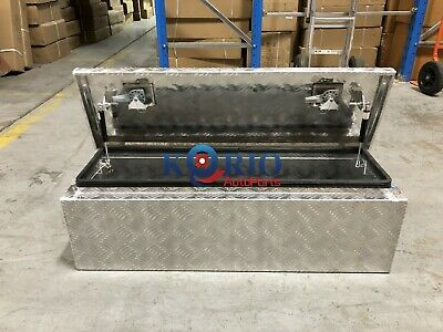 AU215 • Buy Aluminium Toolbox Top Open Rectangular UTE TRUCK TRAILER Tool Box 950 X 300 X300