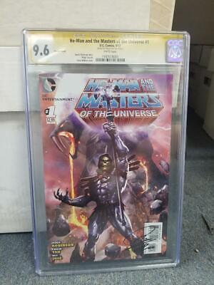 $1199 • Buy HE-MAN And The Masters Of The Universe #1 Wilkins SKELETOR Variant CGCSS 9.6 Tan