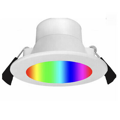 AU45.60 • Buy 12W WiFi Smart RGBW LED Downlight For Home Automation, Alexa Google Home Control