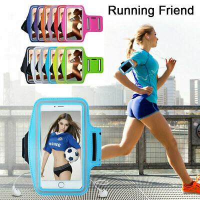 For Samsung Galaxy Gym Running Jogging Sports Armband Holder Mobile Phones • 6.95£