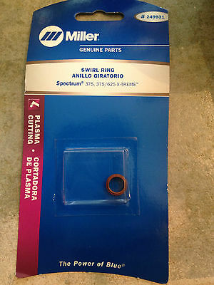 $17.99 • Buy Item 124-Miller 249931 Plasma Cutting Swirl Ring Spectrum 375, 375/625 X-TREME