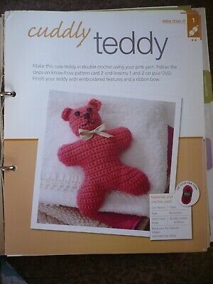 Cuddly Teddy Crochet Pattern From Bergere De France Magazine • 1.50£