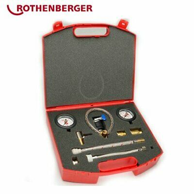 * Rothenberger Professional Plumbers Wet And Dry Pressure Test Kit 67068 • 179£