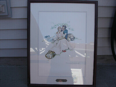 $ CDN265.35 • Buy Norman Rockwell 1953 2 Prints Plate Signed Ltd Ed Lithograph 565 / 118 /2900