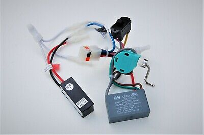 $45 • Buy Hunter Ceiling Fan New Parts -2222 Wiring Harness(capacitor/rev.sw./power Switch