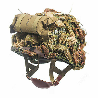 $99.99 • Buy WWII US Paratrooper Airborne M1C Helmet Army Military First-aid Net Cover SET