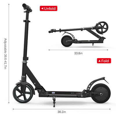 View Details 8IN Electric Scooter Foldable Commuting Scooter 220LB Bearing Capacity O3V9 • 128.00£