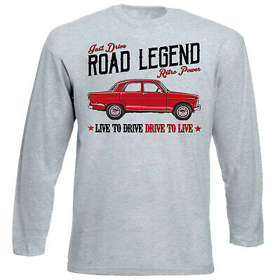 Alfa Romeo Giulietta Vintage - GREY LONG SLEEVED TSHIRT- ALL SIZES IN STOCK • 15.99£