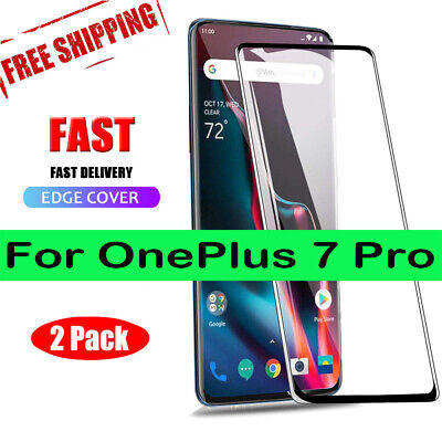 AU4.71 • Buy Tempered Glass For OnePlus 7 Pro 6 6T 5 5T 1+7 Pro Glass Screen Protector Vy