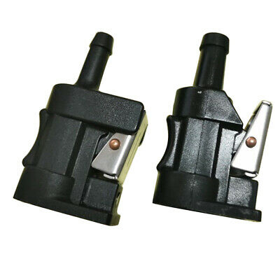 AU12.47 • Buy Female Fuel Tank Connectors 8MMHose Barb For Yamaha Outboard Engine Gas Line