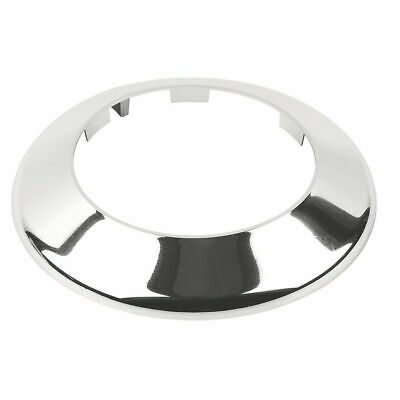 * Toilet Soil Pipe Cover / Collar - 4 Inch / 110mm Chrome - Easy Fit  • 5.99£