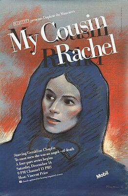 $ CDN400.89 • Buy Original Vintage Poster My Cousin Rachel Daphne Du Maurier 1985 PBS Movie Davis
