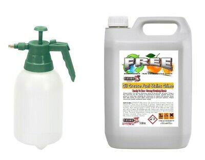 £19.99 • Buy 5L Grime-X FREE Strong Engine Oil Grease Dirt Cleaner Degreaser + Pressure Spray