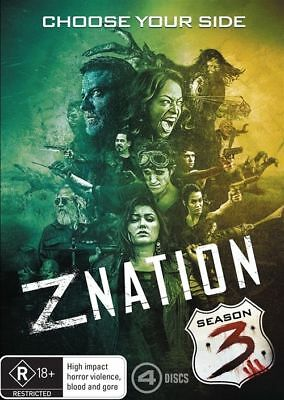 AU17.50 • Buy Z Nation : Season 3 DVD : NEW