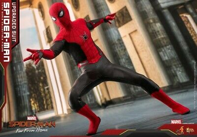 $ CDN423.21 • Buy Hot Toys 1/6 Spider-Man Far From Home Upgraded Suit MMS542 Action Figure Toy Set