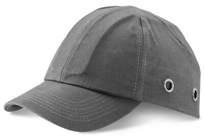 GREY Safety Baseball Cap Bump Hard Hat Lightweight Head Protection  • 9.99£
