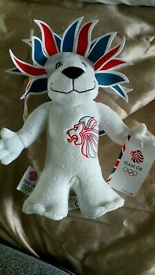 Team GB Plush Lion London 2012 Olympics Mascot • 9.99£